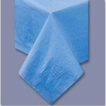 TABLECOVER 54X108 MARINA BLUE PAPER/POLY (25)
