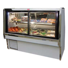 Howard SC-CDS34E-8PT Deli Meat & Cheese Service Case, Pass thru doors, double duty, endless design 100-1/2