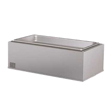 Hatco HWBIB-FUL Built-In Heated Well, rectangular, full size pan, insulated, bottom mounted, remote thermostat with separate power switch, stainless