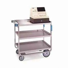 Lakeside 559 Utility Cart, open, (3) shelf, shelf size 49