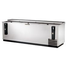 TRUE TD-95-38-S Bottle Cooler, flat top, (37.5cs) 12oz bottles or (55cs) 12oz can capacity, stainless steel counter top & (3) lids, barrel locks