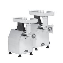 Globe CM22 Chefmate Meat Chopper, #22 head size, 450 lbs. of meat/hour, manual reset motor overload protection, stainless steel housing, cylinder