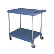 Metro MY2030-24BU myCart Series Utility Cart, (2) shelves, open base, 34-3/8