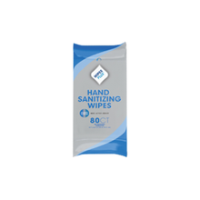 Alcohol-Free, Hand Sanitizing Wipes, soft pack, 80 count per pack