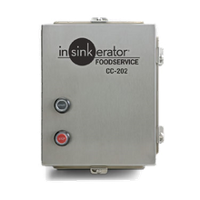 InSinkerator CC202D-6 Control Center CC-202, automatic reverse with start/stop push buttons, for SS-50 to SS-200 disposers, NEMA 4 stainless steel