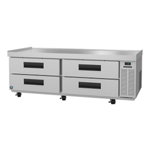 Hoshizaki CR72A Commercial Series Refrigerated Equipment Stand, two section, 72-1/2