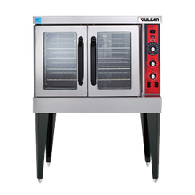 Convection Oven, electric, single-deck, standard depth, solid state controls, 60 minute timer, (5) nickel plated racks, 25-3/4