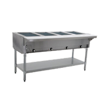 Eagle HT4-NG-1X Hot Food Table, natural gas, open base, 63-1/2