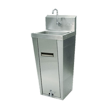 Advance Tabco 7-PS-90 Hand Sink, pedestal mounted base, 14