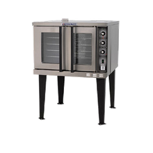Baker's Pride BCO-E1 Cyclone Convection Oven, full-size, electric, single deck, rotary controls, 60 min. timer, 2-speed motor, stainless steel