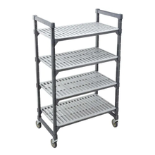 Cambro Mobile Shelving Unit with 4 Shelves, 24