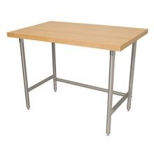 Advance Tabco TH2S-305 Maple Top Work Table, 60