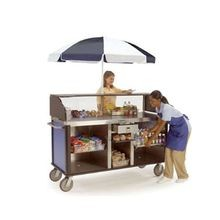 Lakeside 682-10 Serv'n Express Kiosk, mobile, 77-1/4
