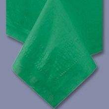 TABLECOVER 54X108 GREEN POLY/TISSUE (25)