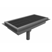 BSI FTAS-24108 BSI, LLC Drain Tech Anti-Splash Floor Trough, 108