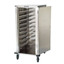 Lakeside 5620 Elite Series Tray Delivery Cart, enclosed-type, single door, single compartment, (20) 14