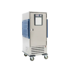 Metro C5R9-SB C5 R-Series Refrigeration Armour heavy-duty insulated mobile refrigerator, full height, adjustable bottom load slides 3.3