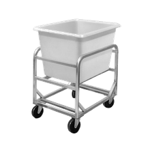 Channel 6SBC Bulk Poly Cart, includes (1) SL6 lug (6 bushel capacity), stainless steel construction, 5