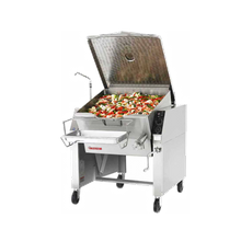 Market Forge 40P-STGL Tilting Skillet, gas, 40 gallon capacity, 9.5