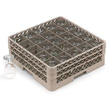 Traex full-size square 25 compartment rack, Vollrath TR6BBB-21