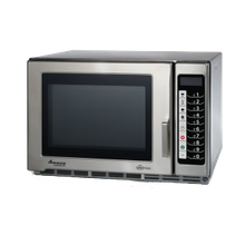 Amana RFS12TS Amana Commercial Microwave Oven, 1.2 Cu. Ft., 1200 Watts, Medium Volume, 4-Stage Cooking, (5) Power Levels, (100) Memory Settings