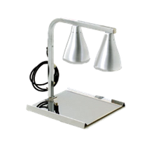 Eagle BW-2-120-X RedHots Heat Lamp, portable, 2 bulb C-frame, adjustable, heavy gauge pewter epoxy coated steel, 120v/60/1-ph, 500 watts, 4.2 amps