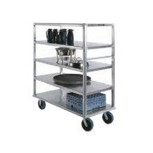 Lakeside 4565 Extreme Duty Queen Mary Banquet Cart, (4) shelf, shelf size 27