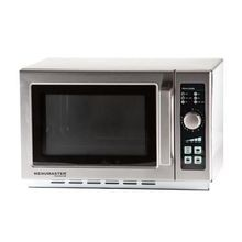 Menumaster MCS10DSE Commercial Microwave Oven, countertop, 1000 watts convection, 1.2 cu. ft. capacity, stainless steel interior & exterior