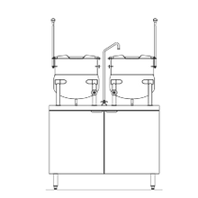 Blodgett CB42E-10-10K Kettle/Stand Assembly, Electric, 42