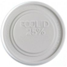 ECOLID LG FOOD CONTAINER LID 24% RECYCLED CONTENT (500)
