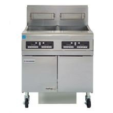 Frymaster FPPH255 Fryer Battery, gas, hi-efficiency, (2) 50 lb. capacity each, built-in filtration, open frypot design, automatic melt cycle