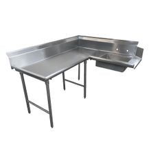 Advance Tabco DTS-K70-60L Korner-Soil Dishtable, L-shaped, left-to-right, 10-1/2