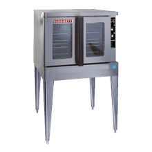Blodgett ZEPH-100-G-ES ADDL Zephaire Convection Oven, gas, single-deck, standard depth, capacity (5) 18