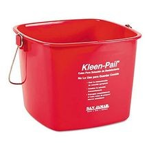 PAIL SANITIZING RED 6 QT