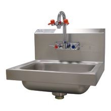 Advance Tabco 7-PS-55 Eye Wash Hand Sink, wall model, 14