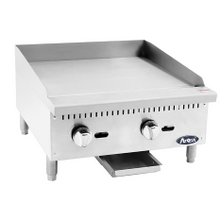 Atosa ATMG-24 CookRite Heavy Duty Griddle, gas, countertop, 24