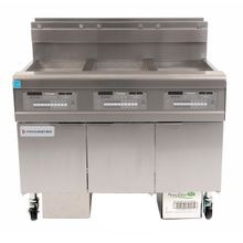 Frymaster FPGL330CA OCF30 Fryer Battery, gas, (3) 30 lb. capacity each, built-in filtration, oil-conserving, open-pot design, full frypots, SMART4U