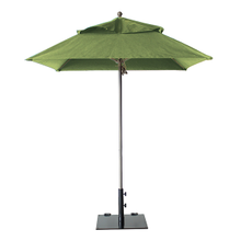 Grosfillex 98662431 Windmaster Umbrella, 6-1/2 ft., square top, 1-1/2