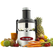 Centaur CMJ330 Big Mouth Juicer, electric, pulp ejector, stainless steel bowl & blade, 120v/60-1ph, 350 watts, 1/2 hp, 11,000 RPM,