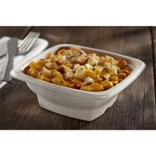 BOWL SQUARE 28 OZ COMPOSTABLE BAGASSE 7.1 X 7.1 (300)