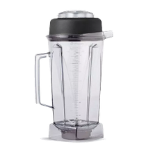 Vitamix 1195 Complete Standard Blender Container, 64 oz. (2 liter) capacity, clear BPA Free Tritan container with wet blade assembly & lid, NSF