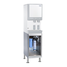 Follett 110BASE-CF Base stand for 110CT Series ice & water dispensers with standard capacity carbon filter system (00130229) installed
