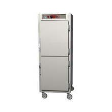 Metro C569-SDS-UPDS C5 6 Series Heated Holding Cabinet, mobile, full height, pass thru, insulated, solid Dutch doors, top mount controls & analog