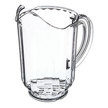 PITCHER PLASTIC 60 OZ CLEAR VERSAPOUR 6/CS