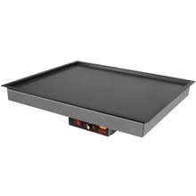 Hatco GRSB-36-I Glo-Ray Drop In Heated Shelf with Recessed Top, 37-1/2
