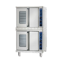 Alto-Shaam 2-ASC-4G/STK Platinum Series Convection Oven, Gas, stacked, standard depth, electronic spark ignition, manual controller, temperature range