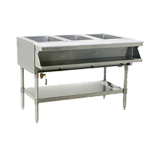Eagle SHT2-120-X Sealed Well Hot Food Table, electric, open base, 33