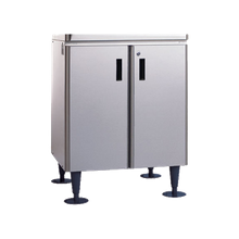 Hoshizaki SD-500 Equipment Stand, for icemaker/dispensers, cabinet base with locking doors, stainless steel, corrosion resistant exterior, with flat