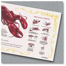 PLACEMAT HOW TO EAT A LOBSTER AND FUN FACTS (1000)