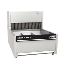 Pitco PCC-18 Crisp 'N Hold Crispy Food Station, countertop, 3 sections, capacity 1050 cu. in., circulated air heating, removable product tray